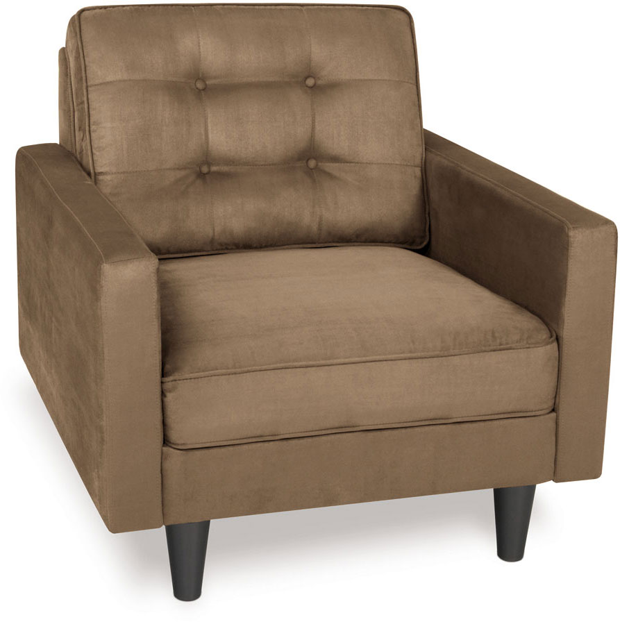 Avenue Six Plaza Tufted Chair - Mocha