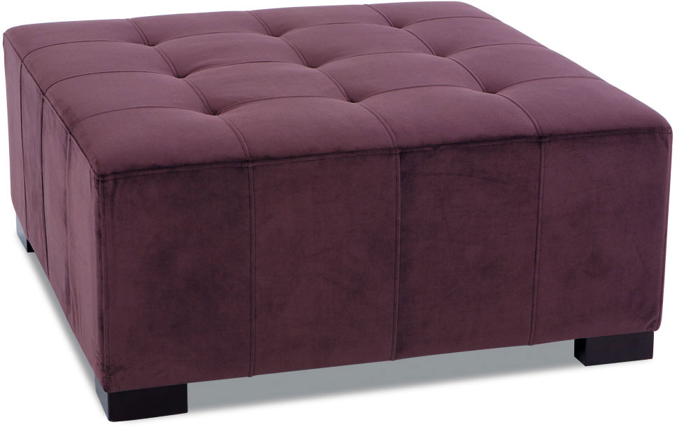 Avenue Six Regent Tufted Ottoman - Purple RGT905-P57 ...
