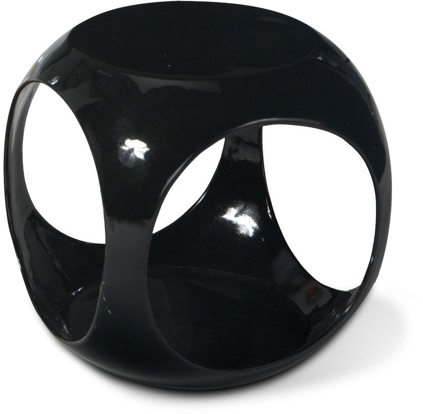 Avenue Six Slick Cube Table - Black