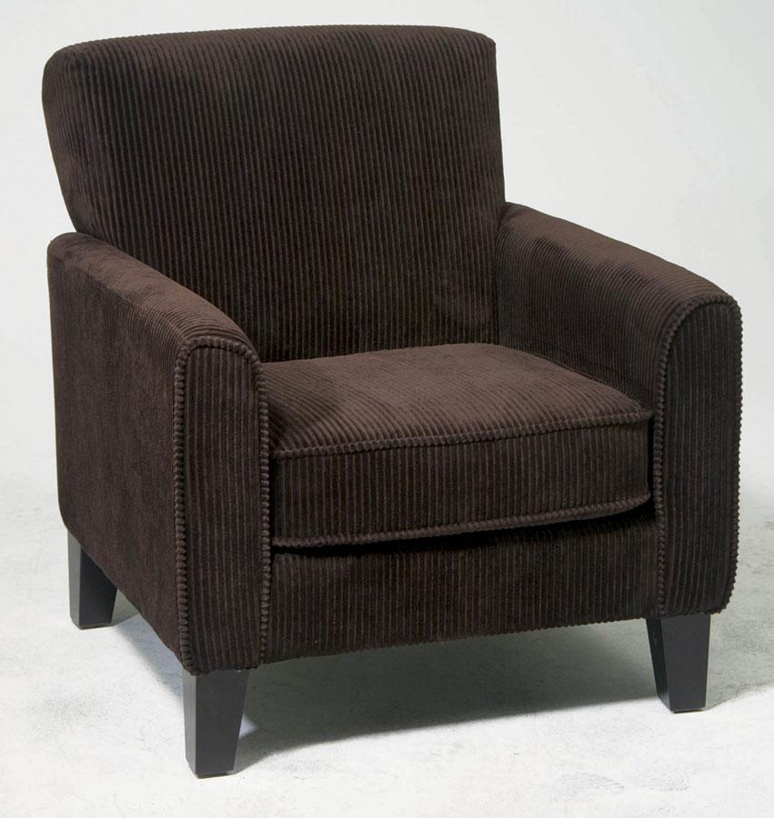 Avenue Six Sierra Chair - Corduroy Coffee