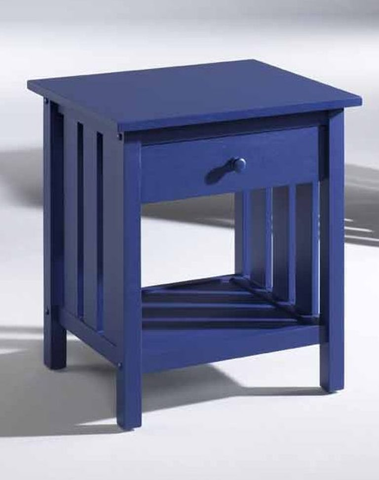Fashion Bed Group Attwood Nightstand in Blue