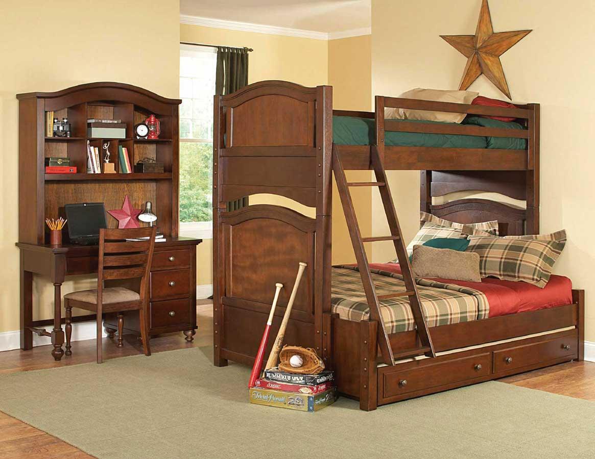 Homelegance B1422 SET Aris Bunk Bedroom Collection