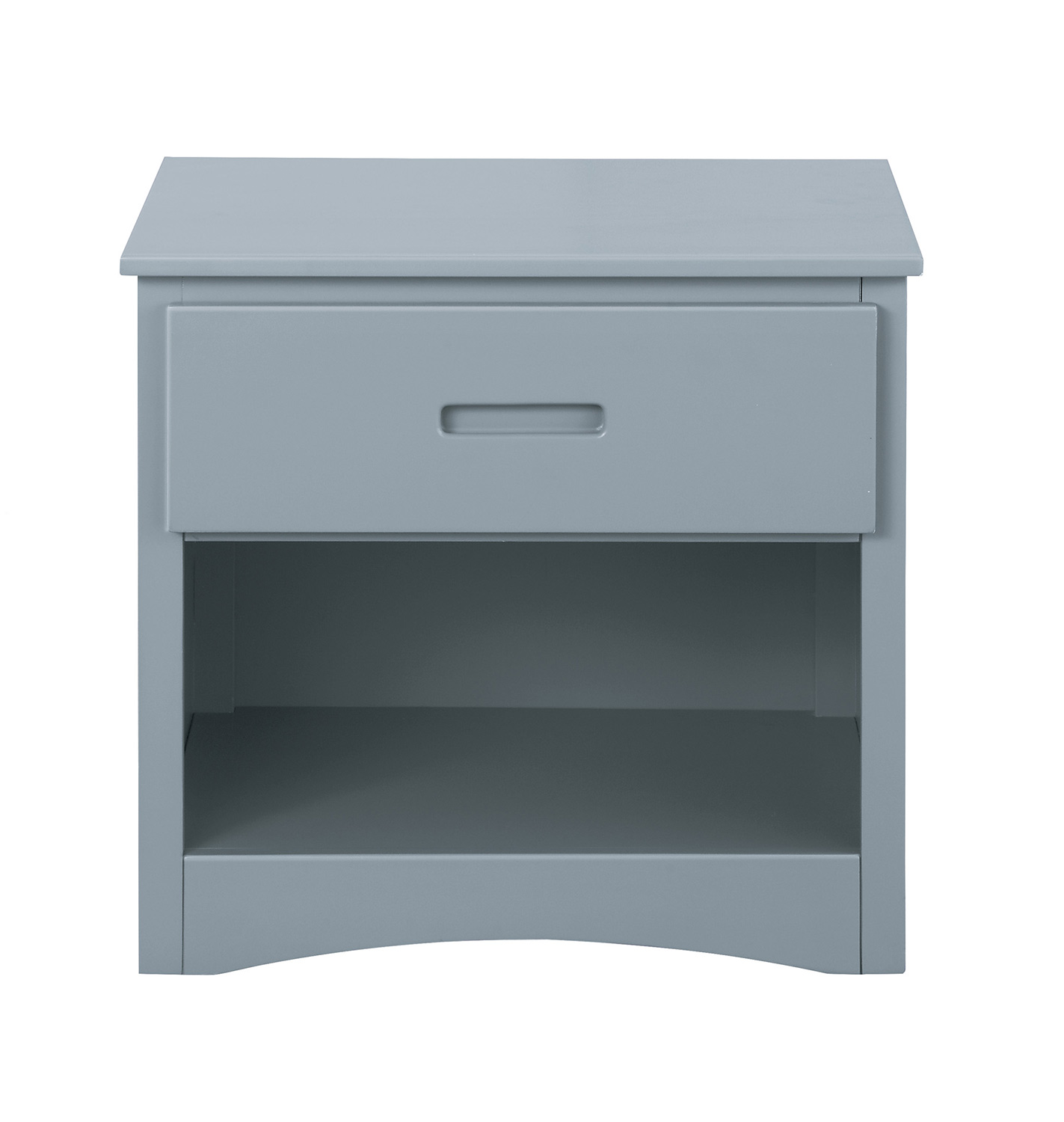 Homelegance Orion Night Stand - Gray