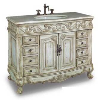 DragonWood Beverley Vanity with sink-Dragon Wood