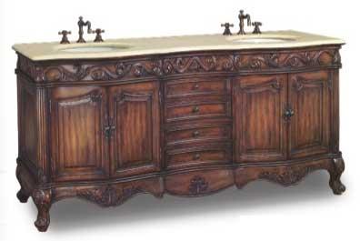 DragonWood Dartford Vanity with sink-Dragon Wood