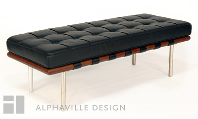 Mies 2-Seater Bench-Alphaville