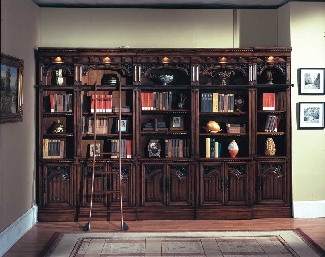 Creative Classic Custom Home Library  Artisan Custom Bookcases