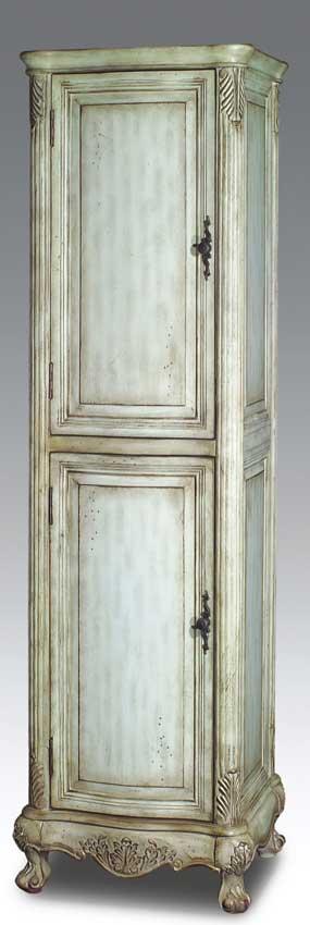 Dragonwood easton linen cabinet antique white dragon wood bc3639aw - Antique bathroom linen cabinets ideas ...