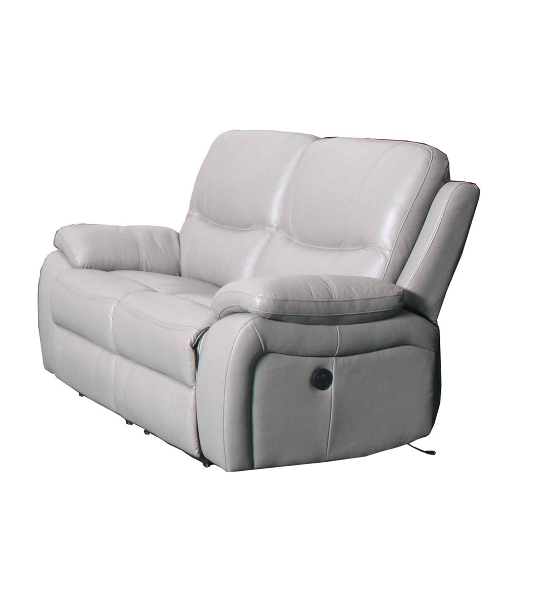 Barcalounger Laguna Power Reclining Loveseat - Cashmere White/Leather Match