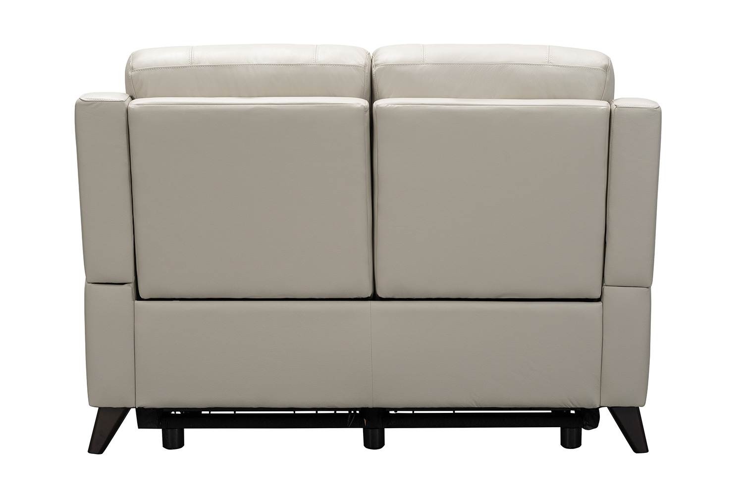 Barcalounger Kester Power Reclining Loveseat with Power Head Rests - Laurel Cream/Leather match
