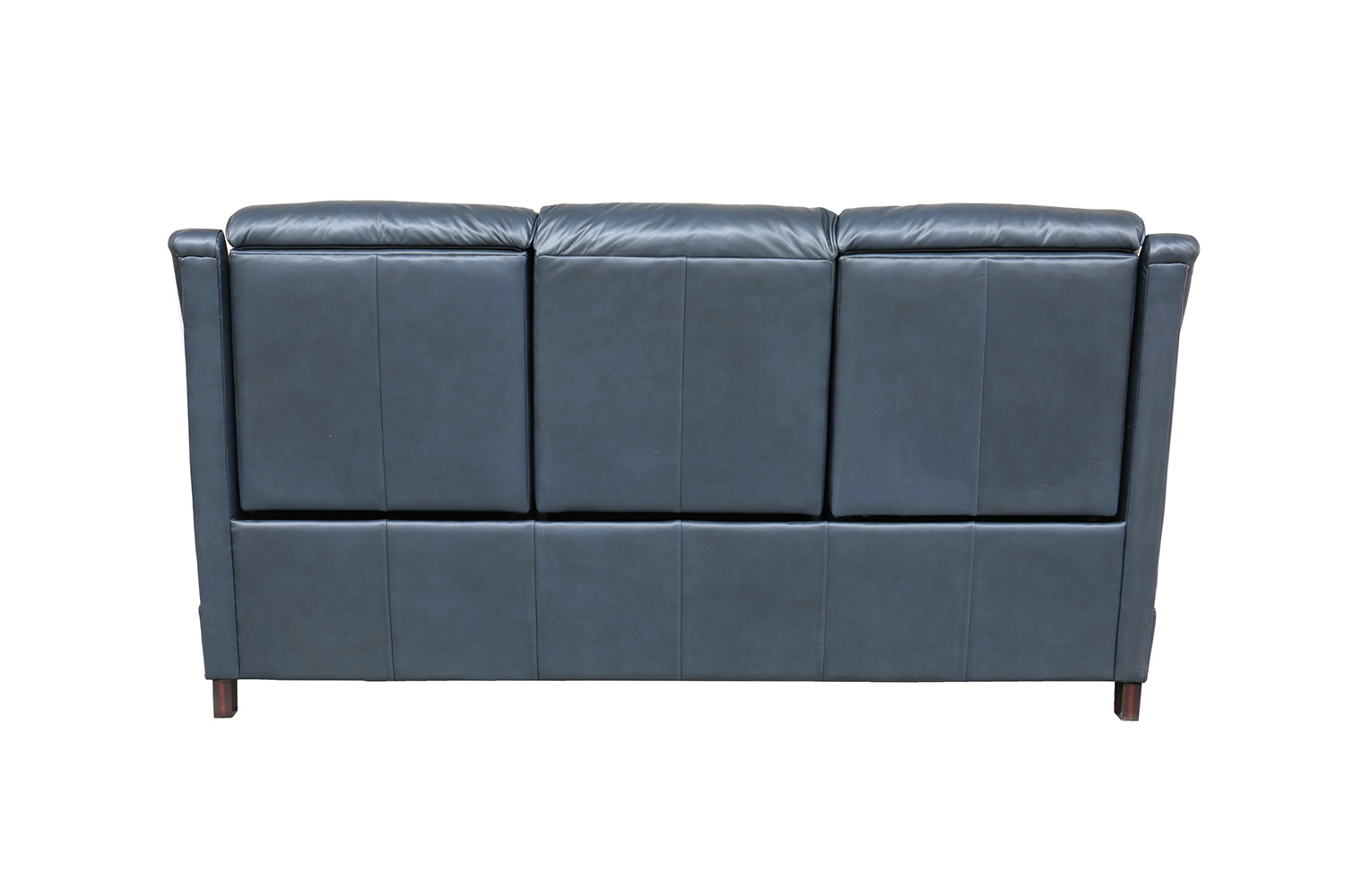Barcalounger Warrendale Power Reclining Sofa with Power Head Rests - Shoreham Blue/All Leather