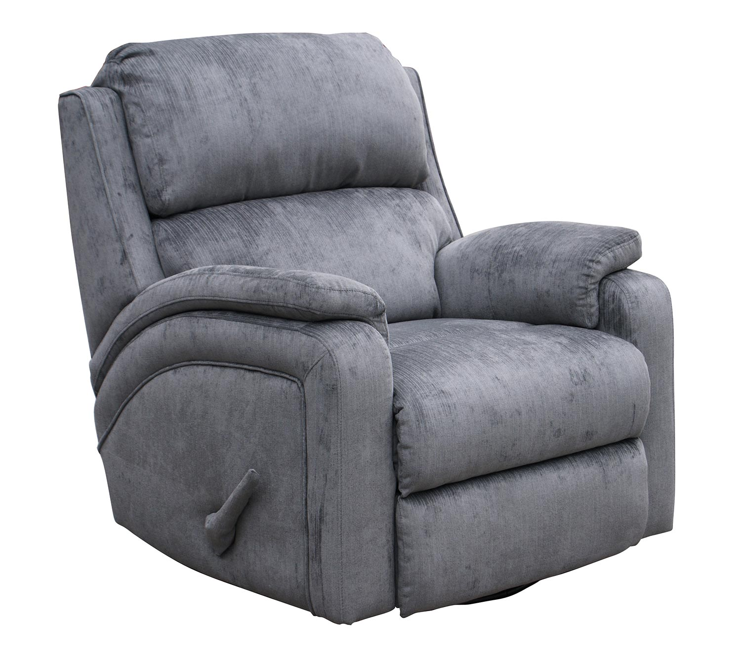 Barcalounger Vantage ll Casual forts Recliner Chair Gray 6