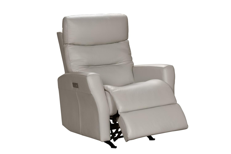 Barcalounger Donavan Power Rocker Recliner Chair with Power Head Rest and Lumbar - Laurel Cream/Leather match