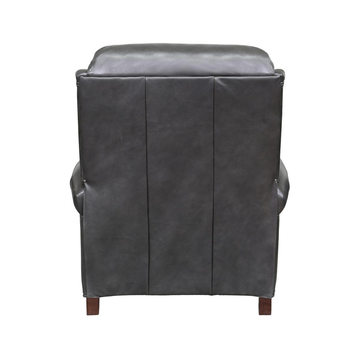 Barcalounger Avery Recliner Chair - Wrenn Gray/all leather