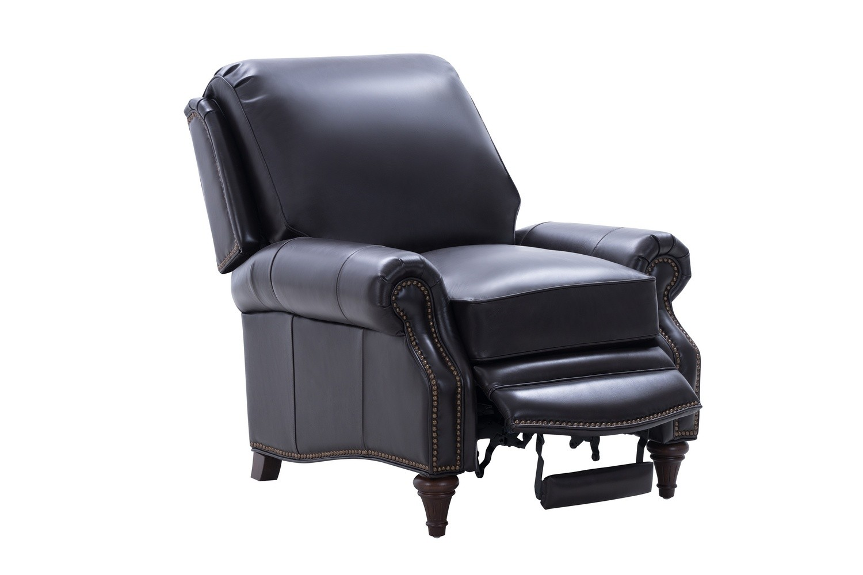 Barcalounger Avery Recliner Chair - Bennington Fudge/All Leather