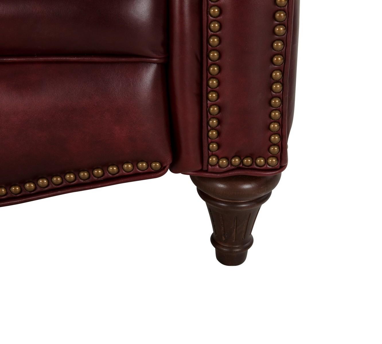 Barcalounger Avery Recliner Chair - Emerson Sangria/Top Grain Leather
