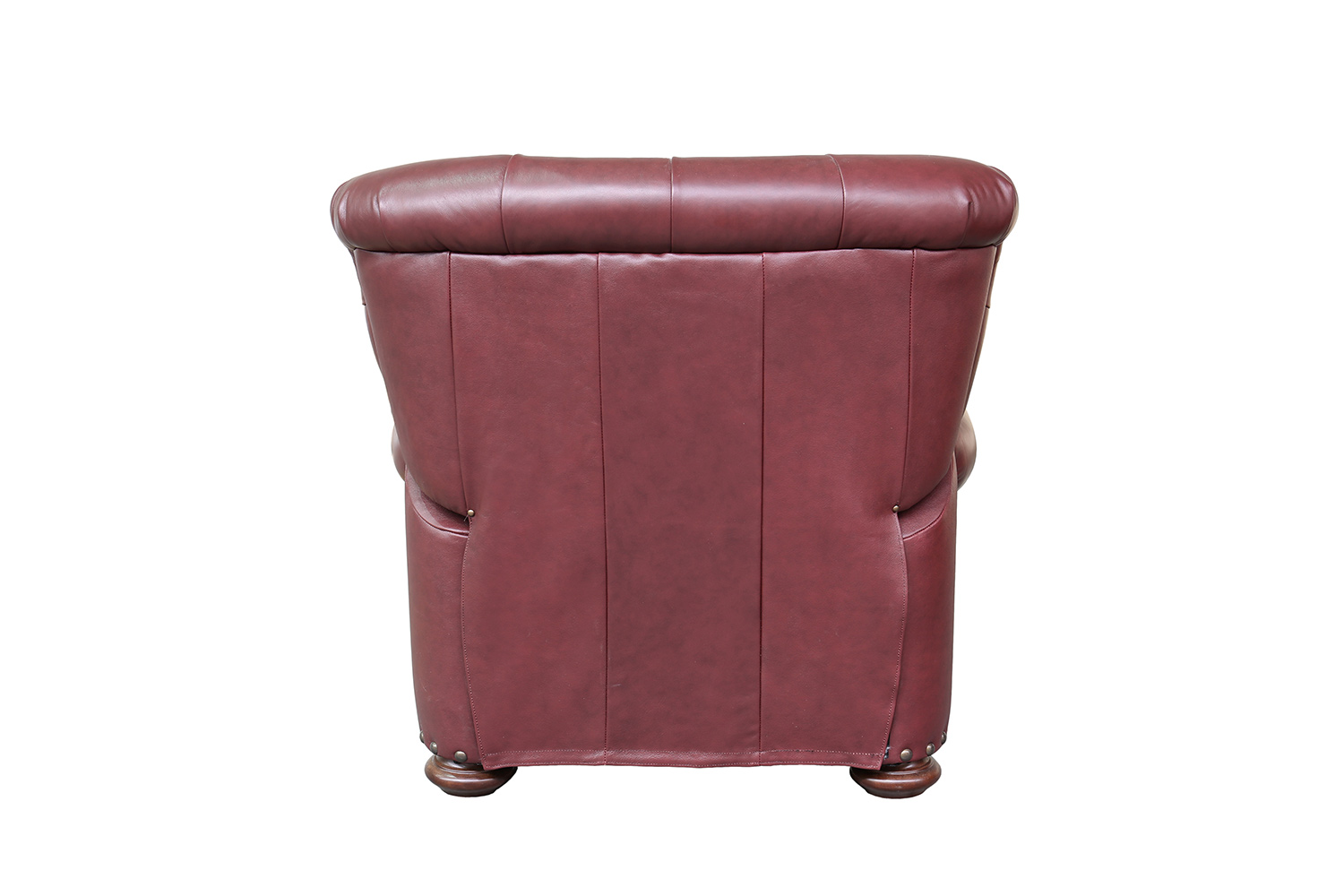 Barcalounger Sinclair Recliner Chair - Shoreham Wine/All Leather