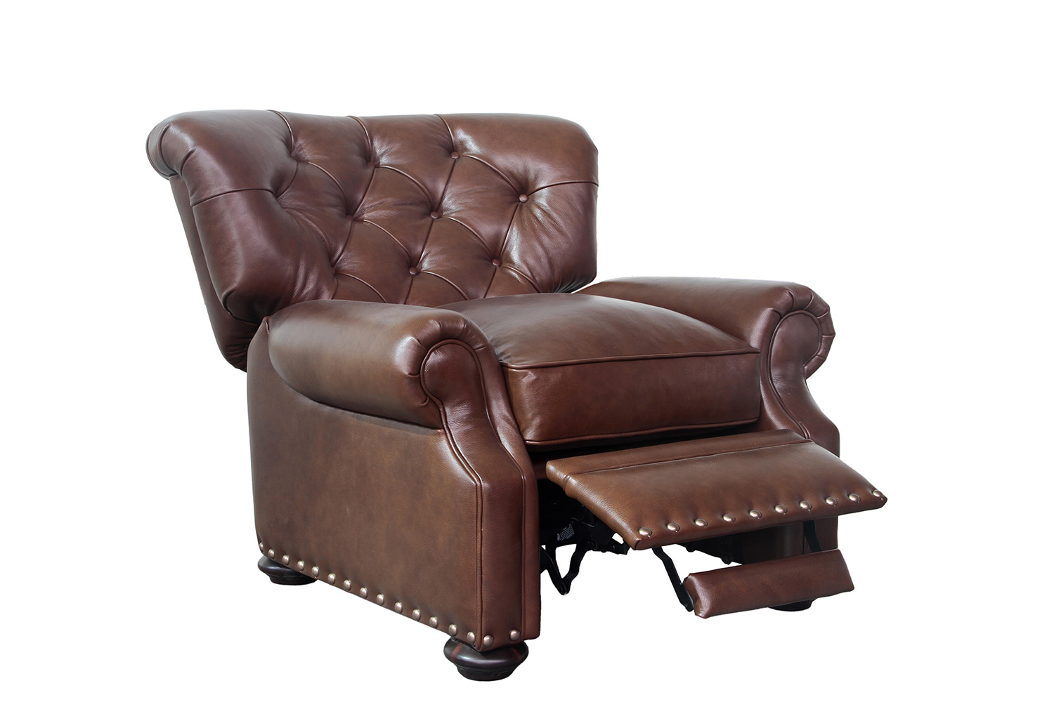 Barcalounger Sinclair Recliner Chair - Shoreham Chocolate/All Leather
