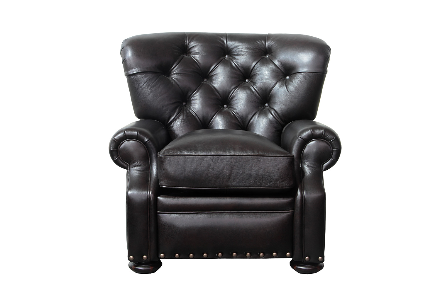 Barcalounger Sinclair Recliner Chair - Shoreham Fudge/All Leather