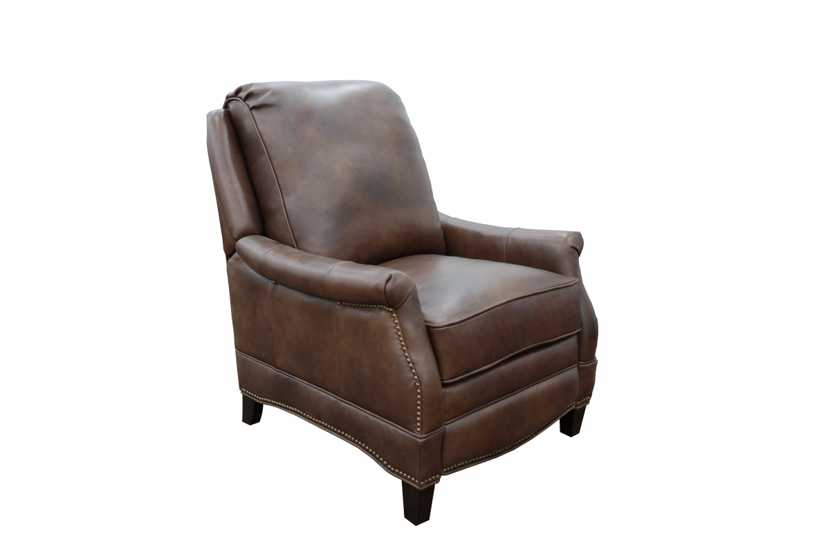 Barcalounger Ashebrooke Recliner Chair - Worthington Cognac/All Leather