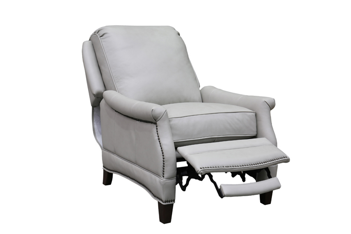 Barcalounger Ashebrooke Recliner Chair - Wenlock Dove/All Leather