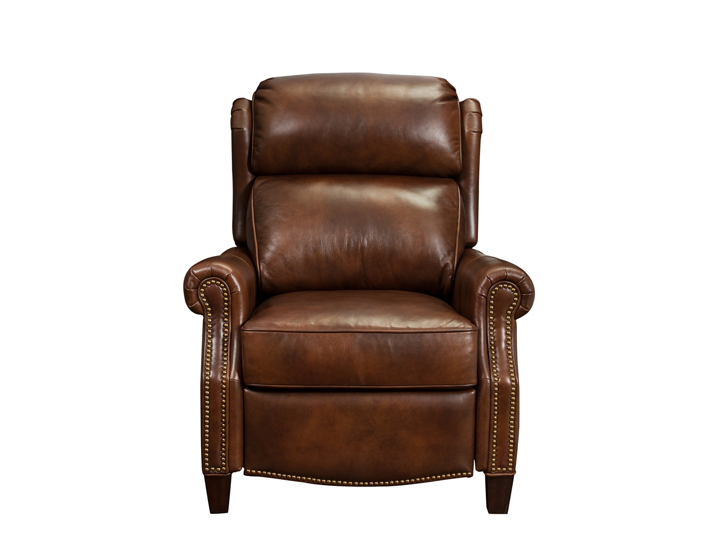 Groovy Barcalounger Meade Recliner Chair Worthington Cognac All Leather Short Links Chair Design For Home Short Linksinfo