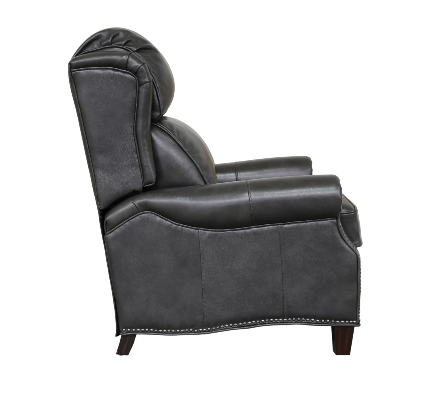 Barcalounger Meade Recliner Chair - Wrenn Gray/all leather
