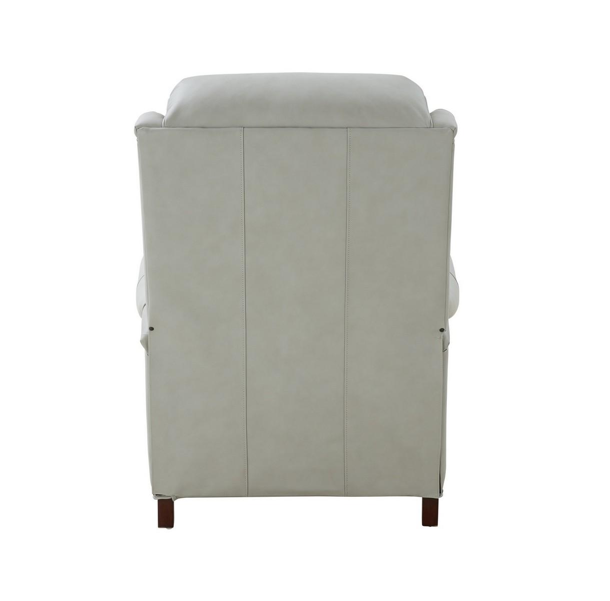 Barcalounger Meade Recliner Chair - Corbett Chromium/All Leather
