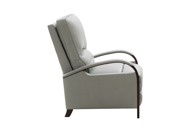 Barcalounger Bridgemore Recliner Chair - Corbett Chromium/All Leather