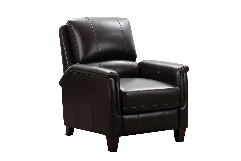Barcalounger Quinn Recliner Chair - Bennington Fudge/All Leather