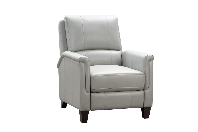 Barcalounger Quinn Recliner Chair - Corbett Chromium/All Leather