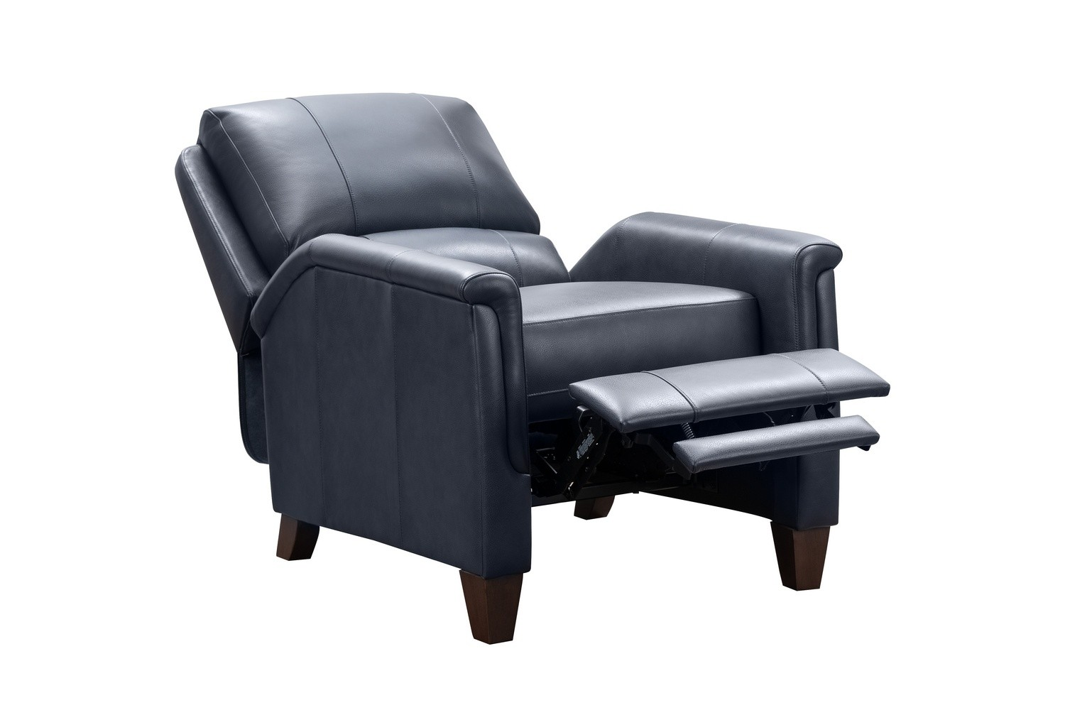 Barcalounger Quinn Recliner Chair - Barone Navy Blue/All Leather