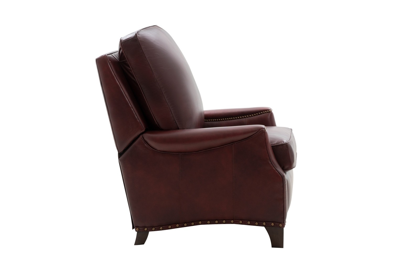 Barcalounger Ellis Recliner Chair - Emerson Sangria/Top Grain Leather