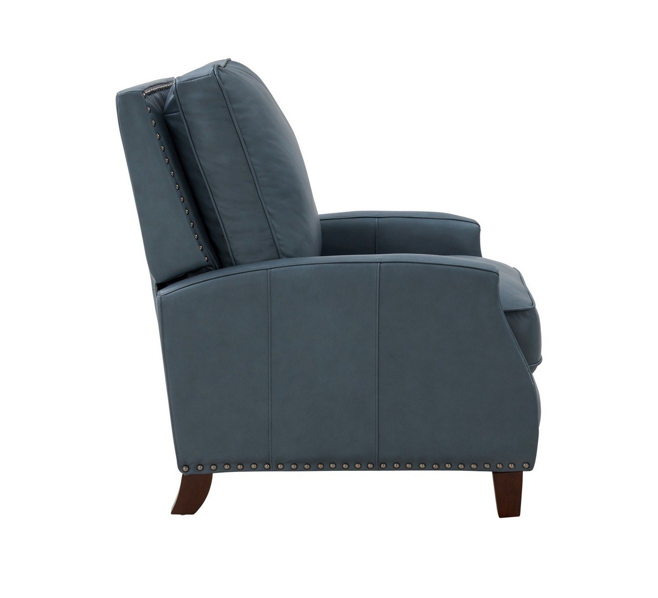 Barcalounger Melrose Recliner Chair - Corbett Steel Gray/All Leather