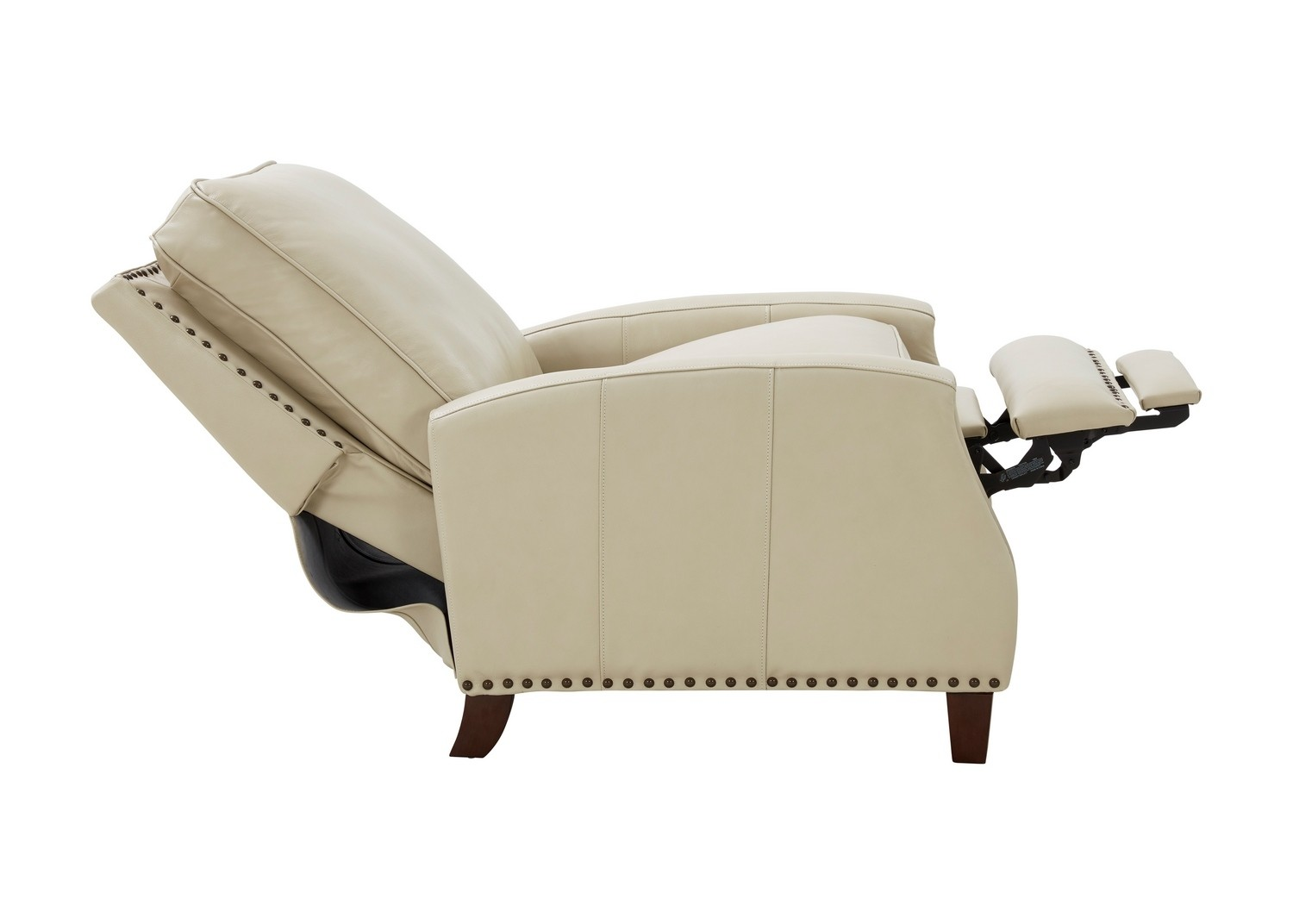 Barcalounger Melrose Recliner Chair - Barone Parchment/All Leather