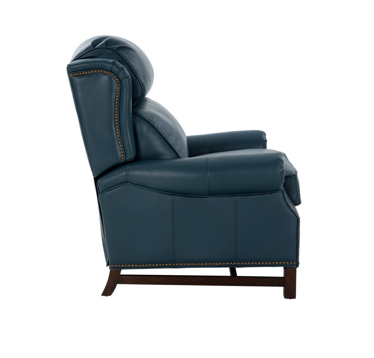 Barcalounger Thornfield Recliner Chair - Prestin Yale Blue/All Leather