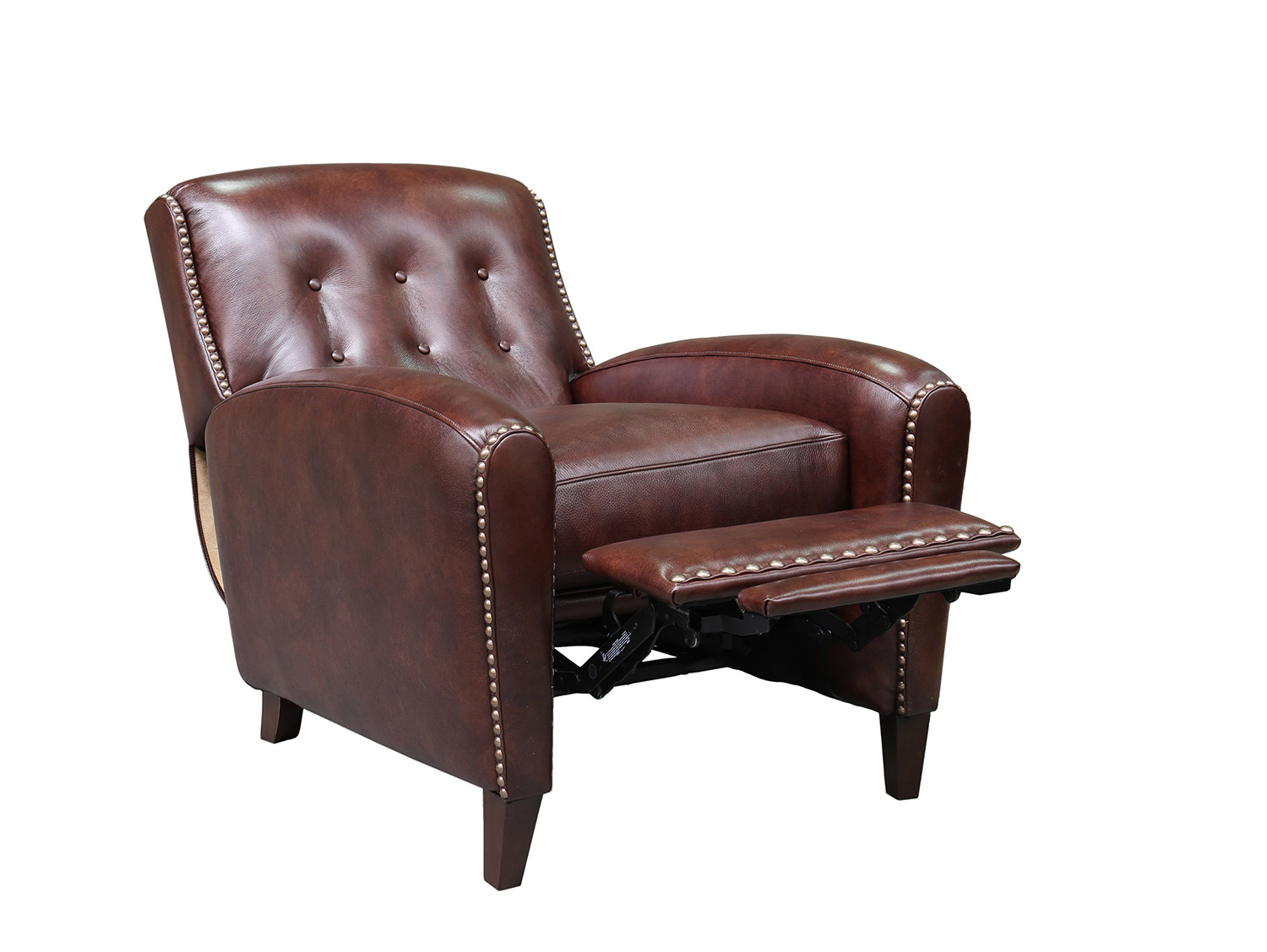 Barcalounger Willoughby Recliner Chair - Wenlock Fudge/All Leather