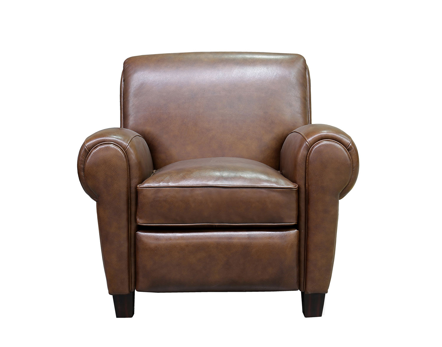 Barcalounger Edwin Recliner Chair - Wenlock Double Chocolate/All Leather