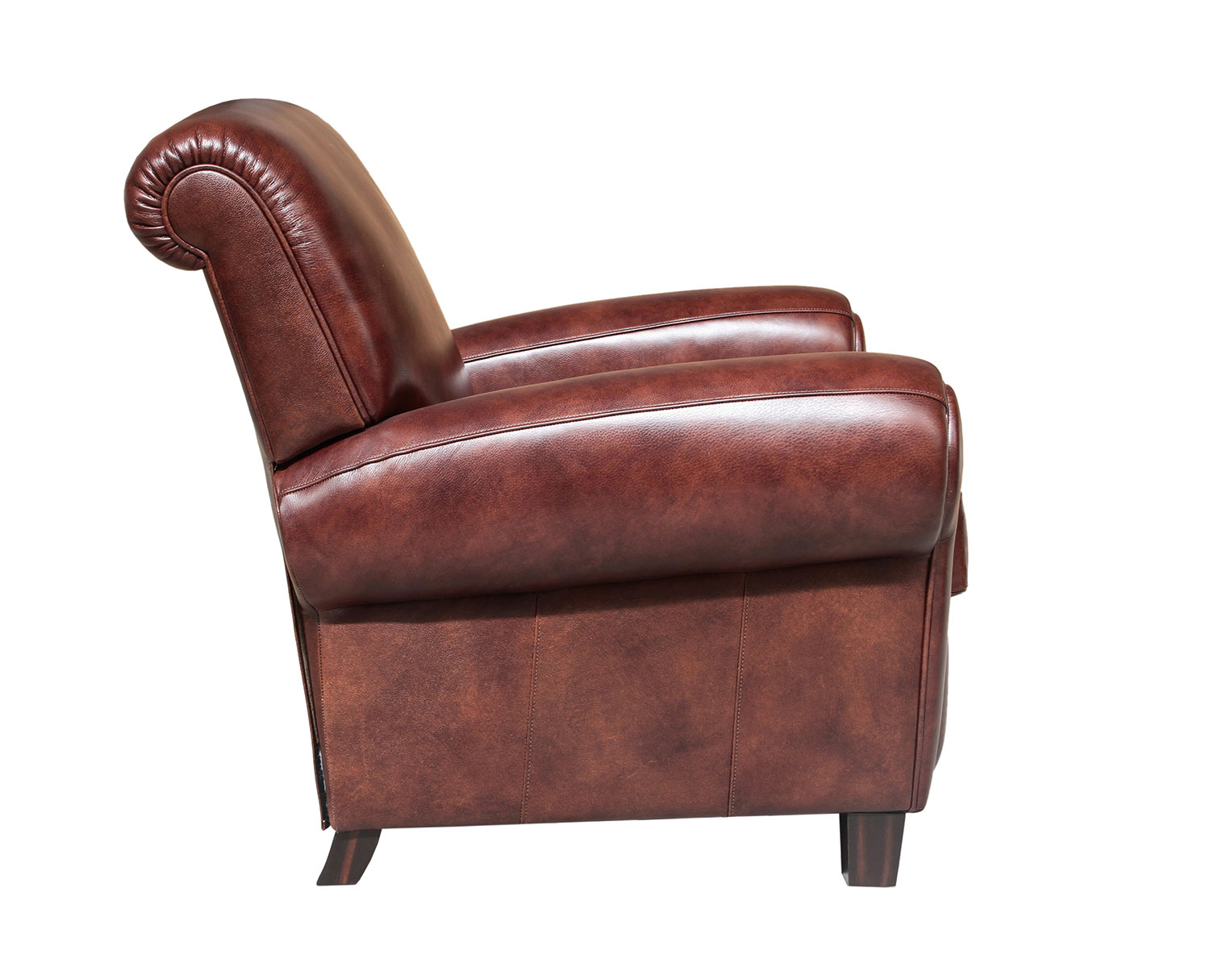Barcalounger Edwin Recliner Chair - Wenlock Fudge/All Leather