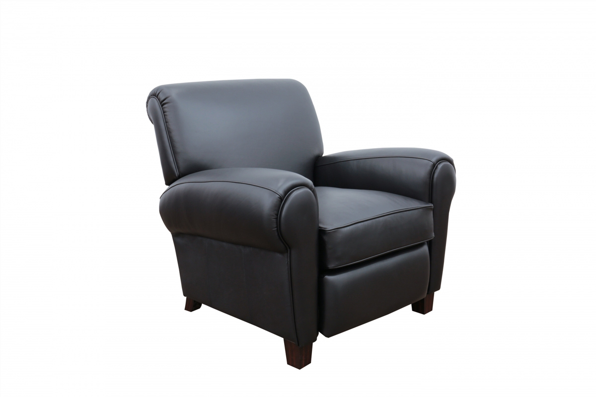 Barcalounger Edwin Recliner Chair - Wenlock Onyx/All Leather
