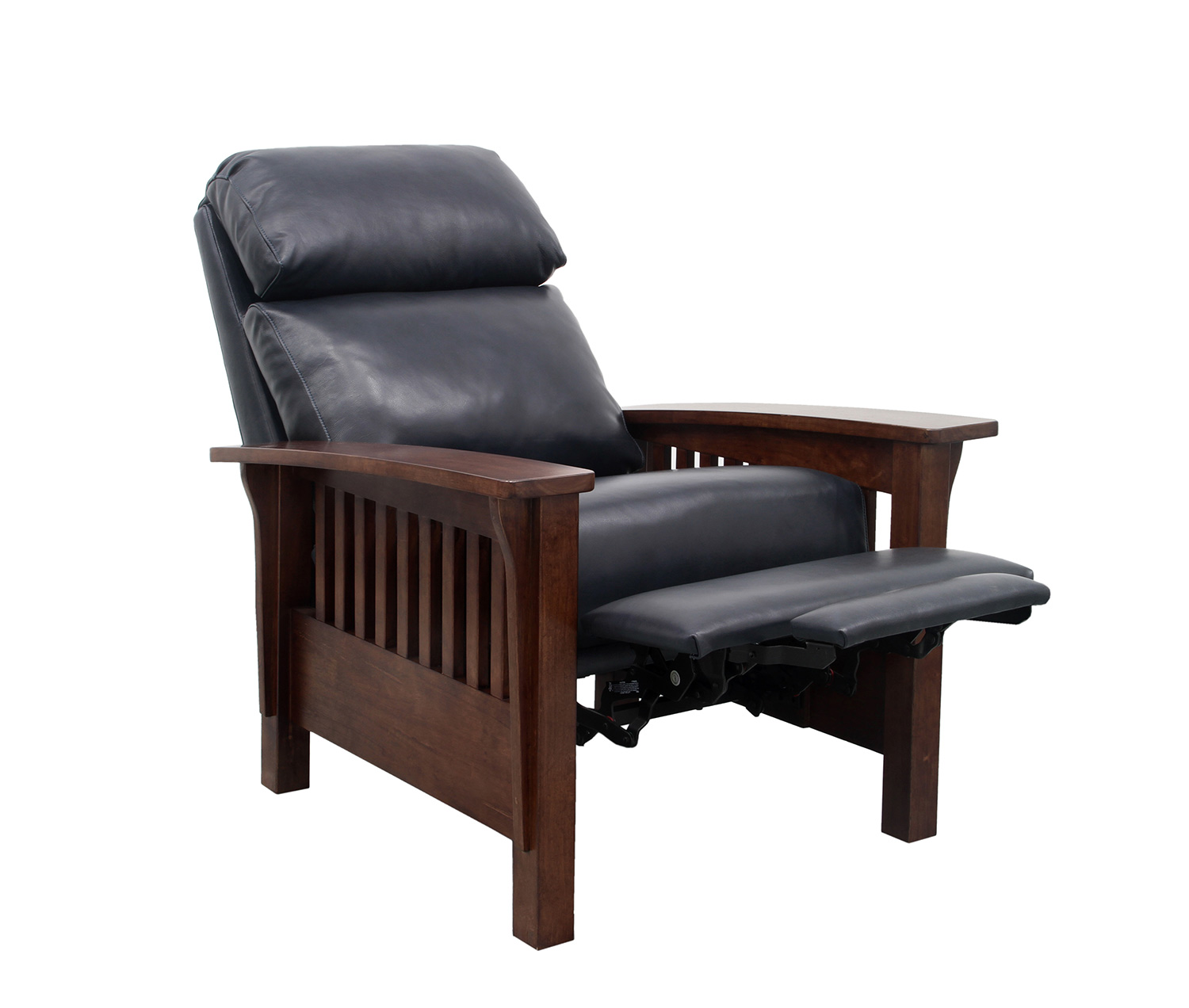 Barcalounger Mission Recliner Chair - Shoreham Blue/All Leather