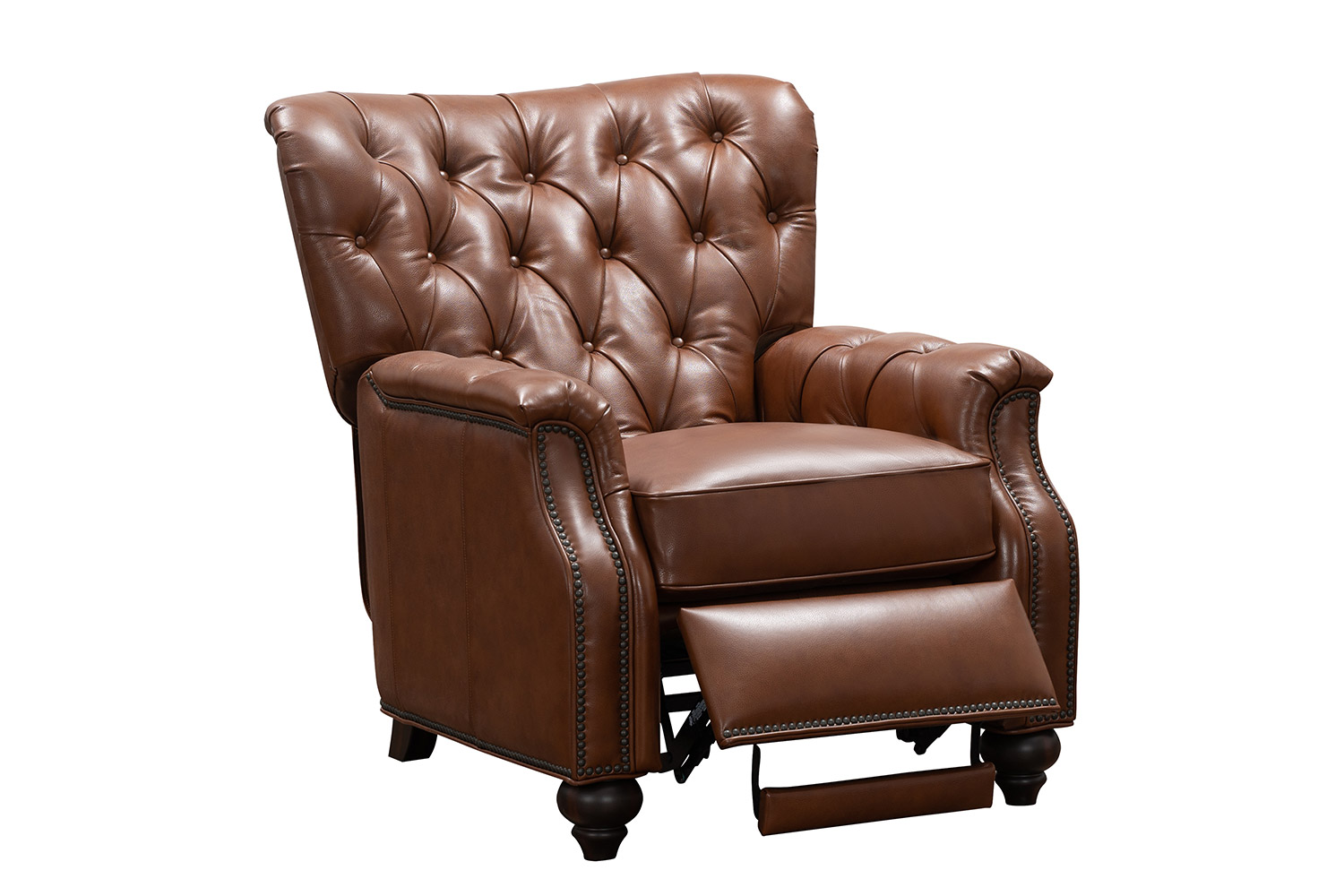 Barcalounger Lombard Recliner Chair - Ashford Bitters/All Leather