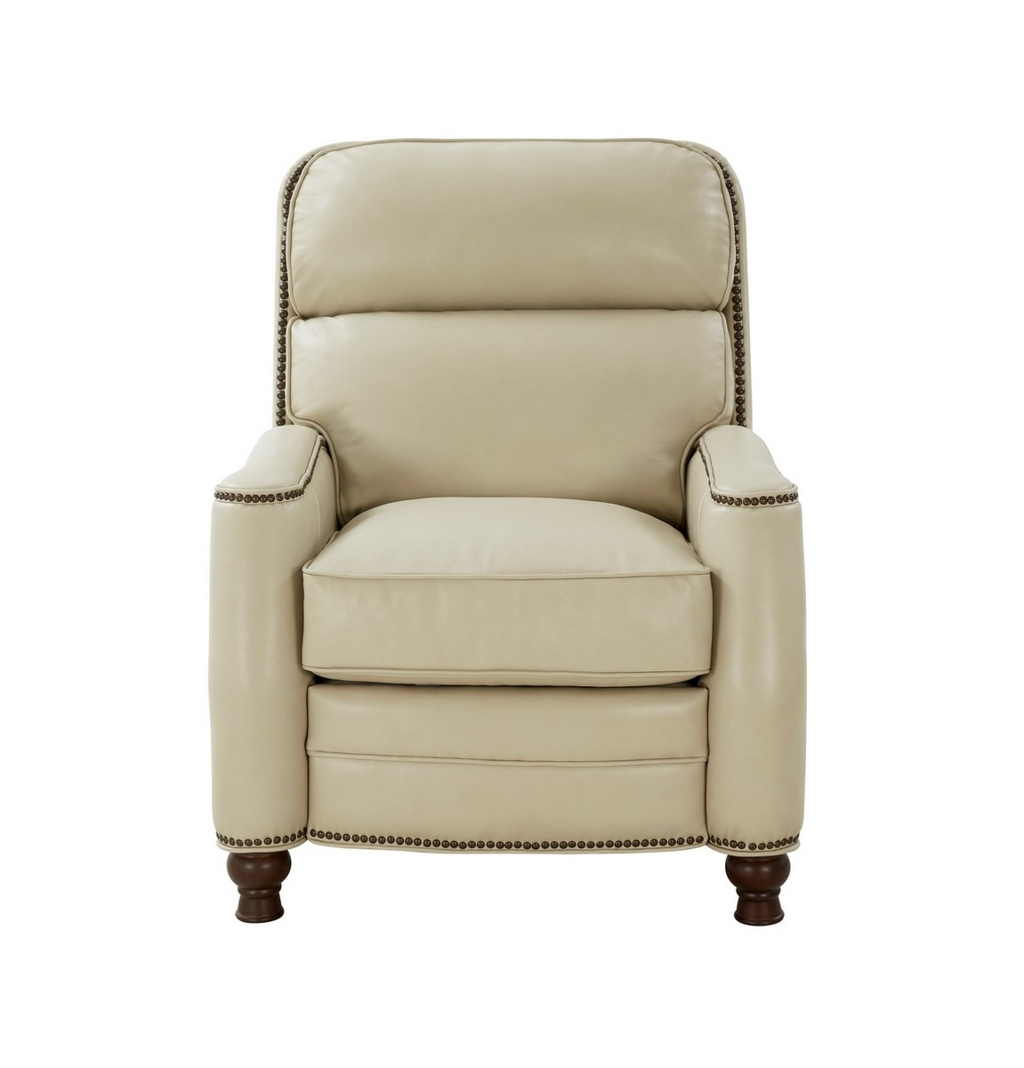 Barcalounger Townsend Recliner Chair - Barone Parchment/All Leather