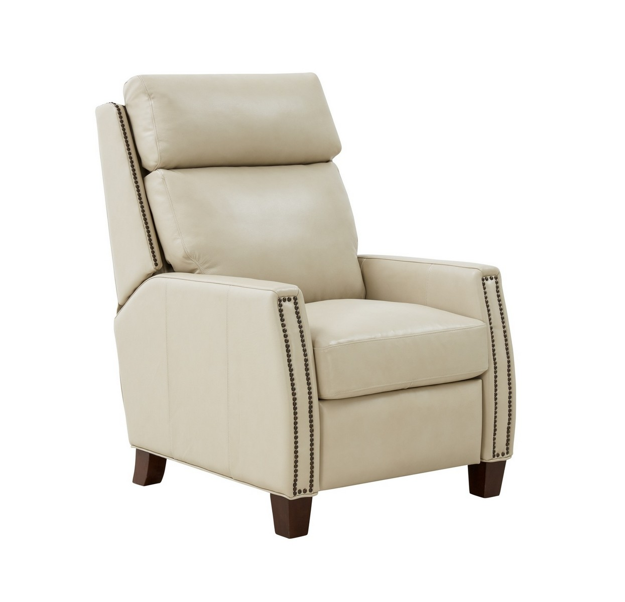Barcalounger Anaheim Big and Tall Recliner Chair - Barone Parchment/All Leather
