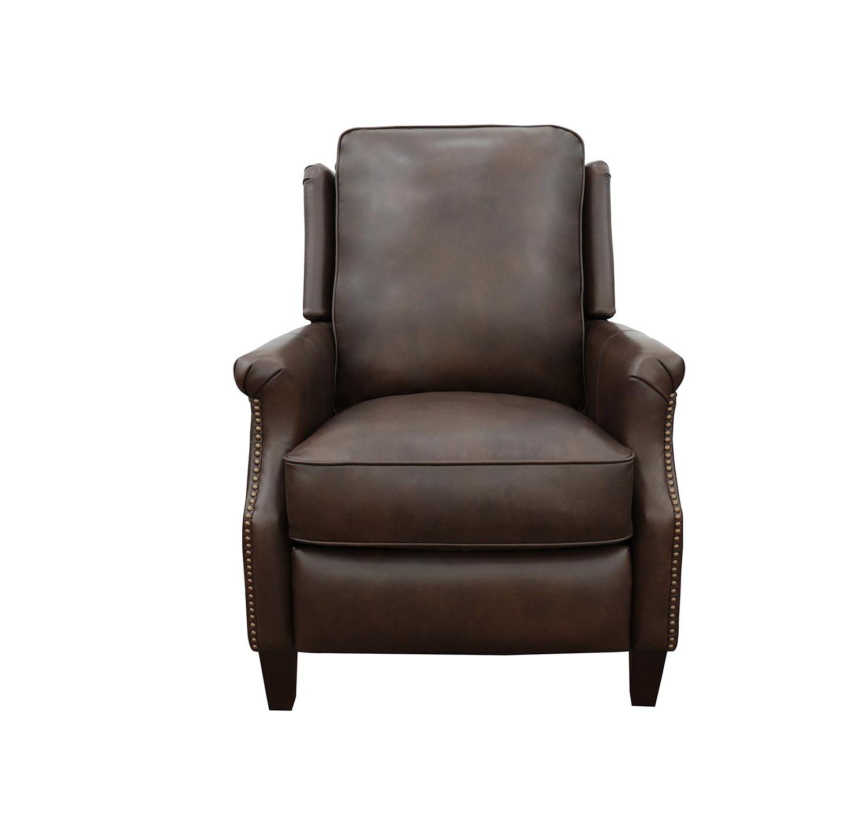 Barcalounger Riley Recliner Chair - Ashford Walnut/All Leather