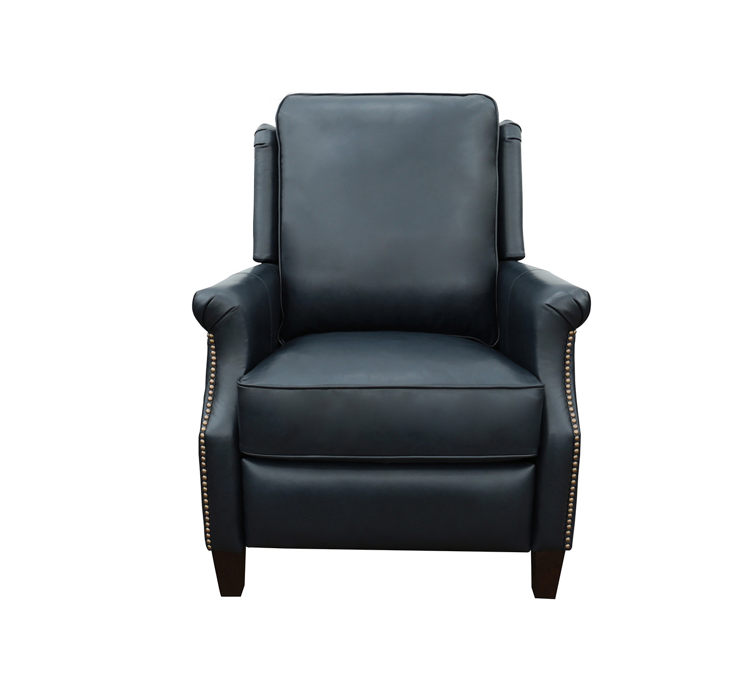 Barcalounger Riley Recliner Chair - Shoreham Blue/All Leather