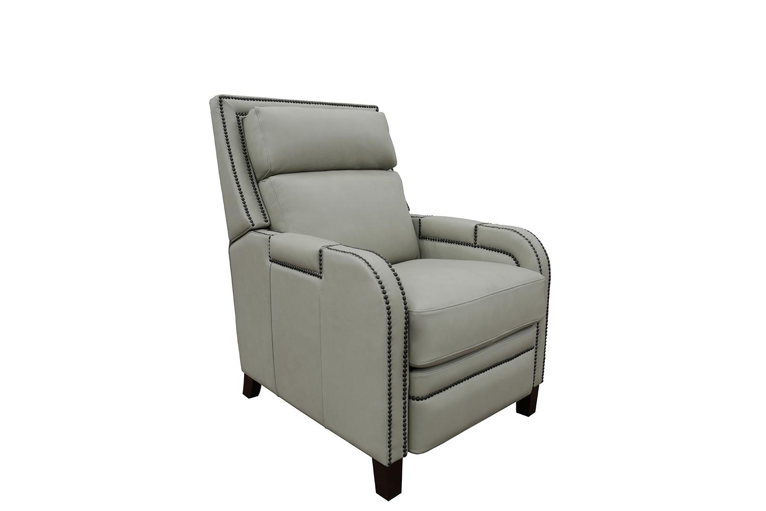 Barcalounger Cambridge Recliner Chair - Wenlock Dove/All Leather