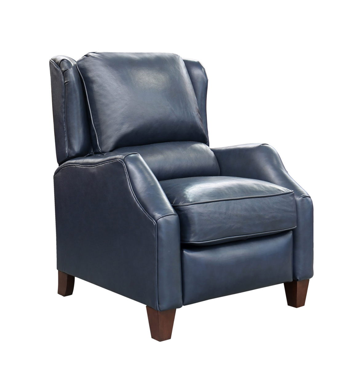 Barcalounger Berkeley Recliner Chair - Shoreham Blue/All Leather