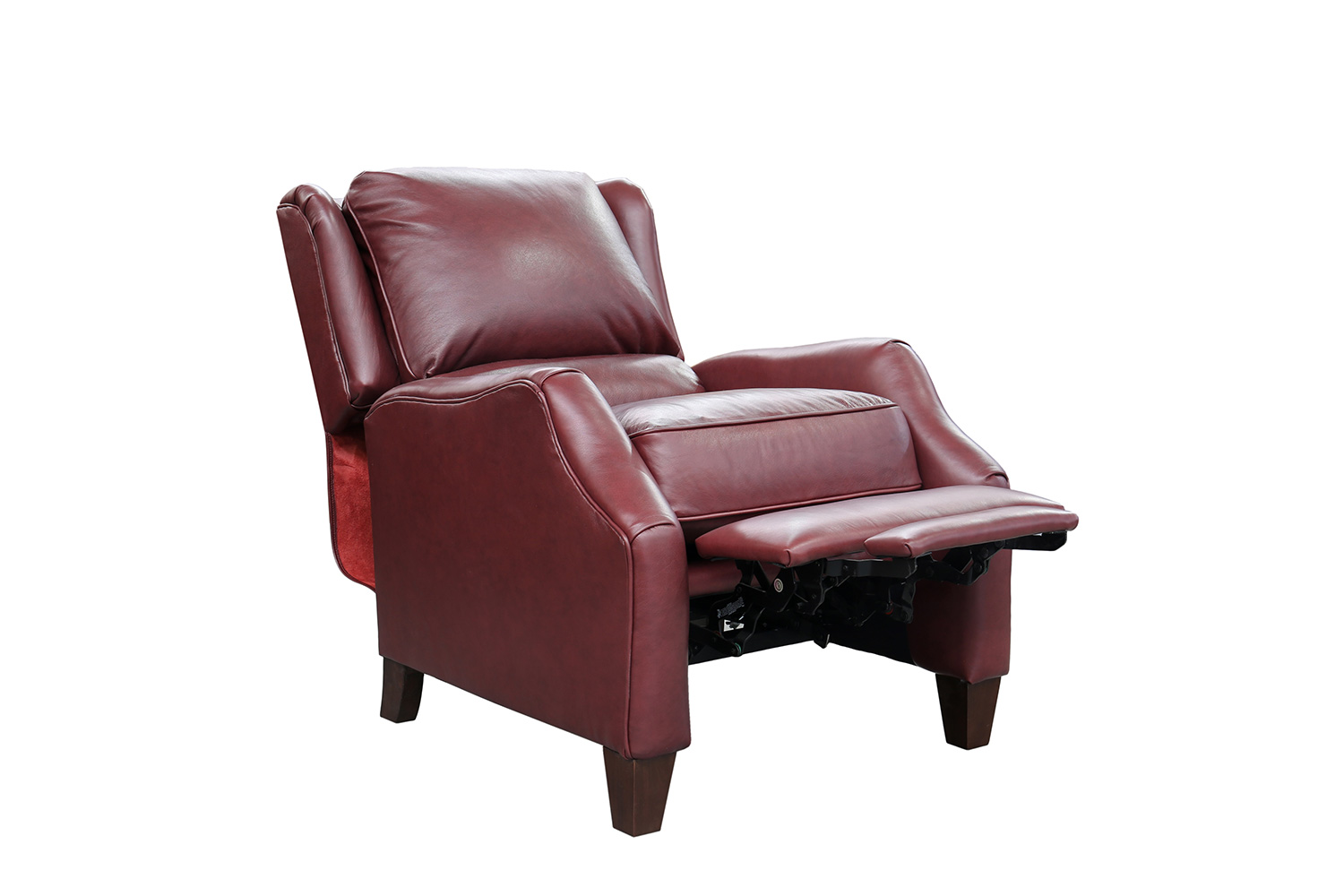 Barcalounger Berkeley Recliner Chair - Shoreham Wine/All Leather
