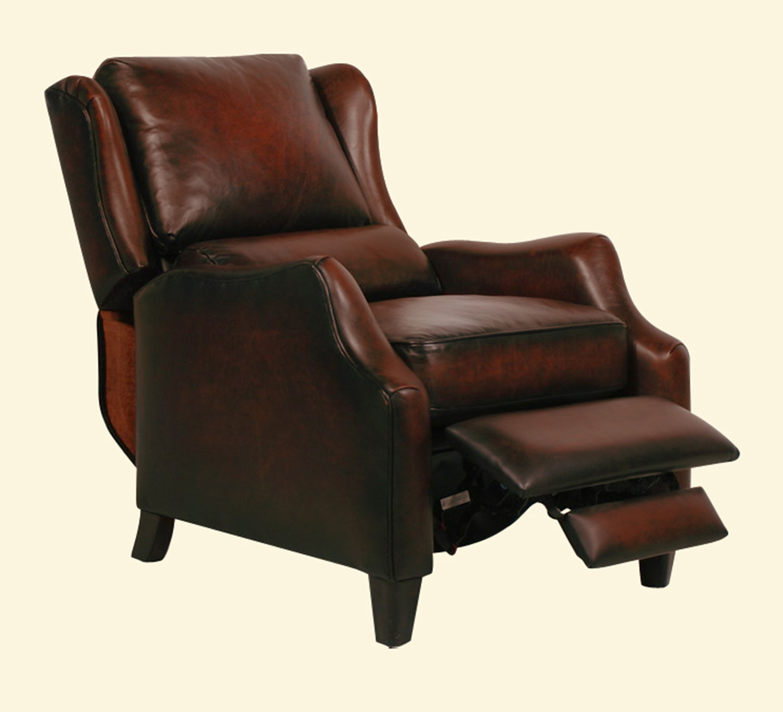 Barcalounger berkley ll vintage reserve leather recliner for Barcalounger